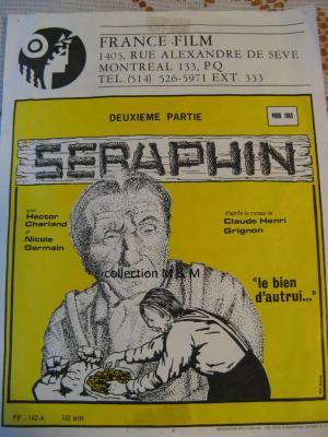 Affiche du flim Séraphin 1950