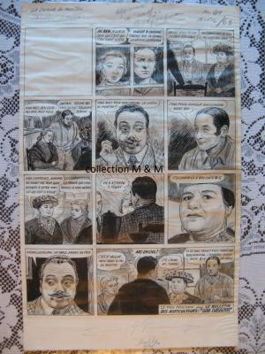 Planche originale, Le Bulletin des Agriculteurs, Albert Chartier