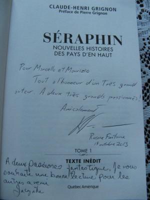 Séraphin Nouvelles Histoires Des Pays D'en Haut / TOME 1