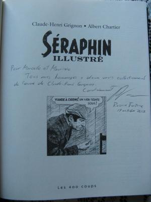 BD Séraphin Illustré par Claude-Henri Grignon et Albert Chartier