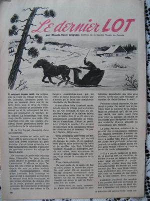 Le dernier Lot par Claude-Henri Grignon