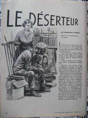 Le Déserteur par Claude-Henri Grignon