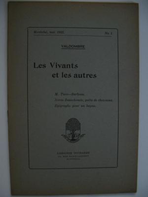 Les Vivants et les autres No #1 1922