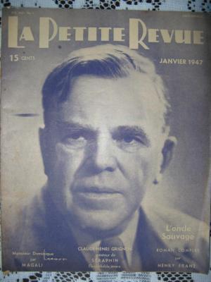 La Petite Revue - janvier 1947
