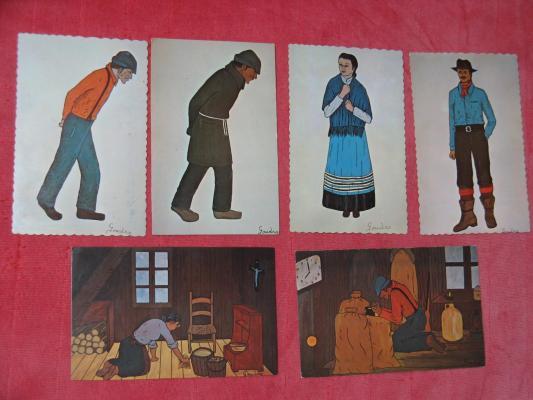 Cartes postales -artiste Michèle Goudro