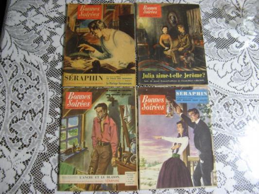 4 Revues Bonnes Soirées 1954