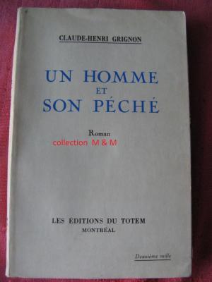 Page couverture première édition originale 1933