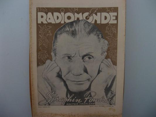 Journal Radio Monde octobre 1942