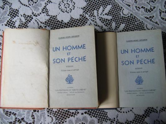 Un homme et son péché 1935 / Éditions du Vieux Chêne