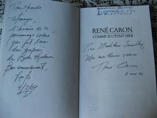 Comme si c'était hier ( René Caron )