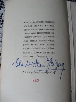 Un homme et son péché 1941 # 837 / 1000
