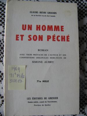 Un homme et son péché 1969 / Éditions du Grenier