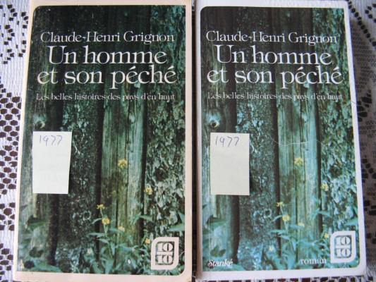 Un homme et son péché 1977 / Éditions Stanké