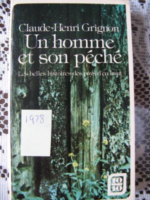 Un homme et son péché 1978 / Éditions Stanké