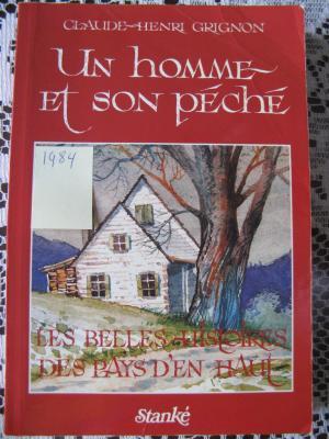 Un homme et son péché 1984 / Éditions Stanké