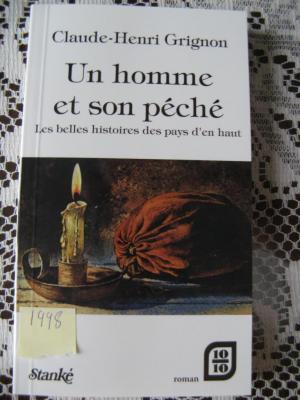 Un homme et son péché 1998 / Éditions Stanké