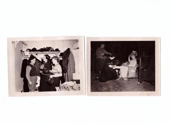 Photos figurant dans la salle des costumes,Antoinette Giroux,Angélique