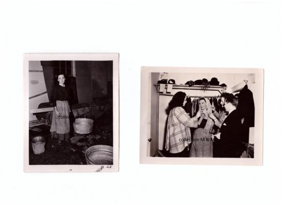 Photos Donalda & Donalda dans la salle des costumes
