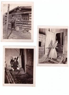 Photos scène de tournage / Jambe De Bois, Donalda & le Docteur