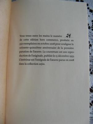 Un homme et son péché 2008 /  ( ré-édition de 1933)